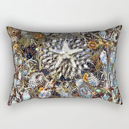 Tiny Sea Creatures Rectangular Pillow