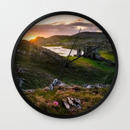West Cork, Ireland - The Awakening  (RR87) Wall Clock