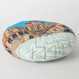 Plaza del Rey Floor Pillow
