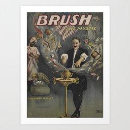 Brush the Mystic Art Print