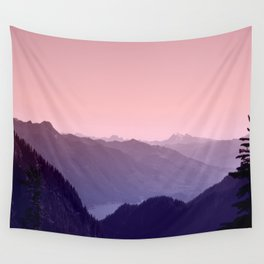 The Song of the Mountains Wall Tapestry