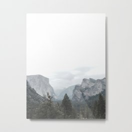 Mountains are calling Metal Print