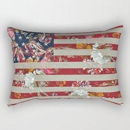 Peace loving patriot Rectangular Pillow