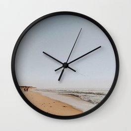 HALF MOON BAY III Wall Clock