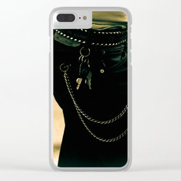 Rockabilly look Clear iPhone Case