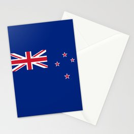 New Zealand Flag Patriotic Stationery Cards