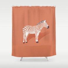 Animal Kingdom: Zebra I Shower Curtain