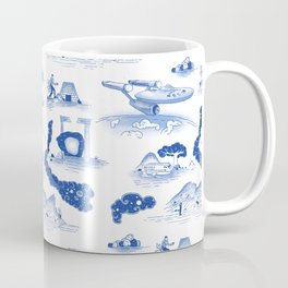 Pop Porcelain- Final Frontier Coffee Mug