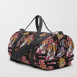 Set of cosmetics and perfumes . Duffle Bag