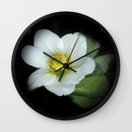 elegant flower design -3- Wall Clock