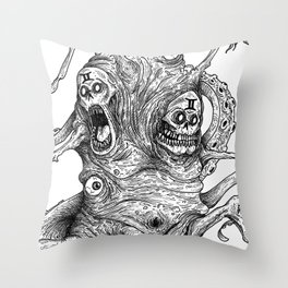 HELL'S ZODIAC - GEMINI Throw Pillow