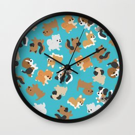 Dogs Galore Wall Clock