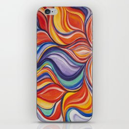 Fire Blossom iPhone Skin