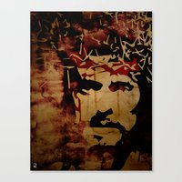 christ Canvas Prints featuring Jesus Christ by Ed Pires