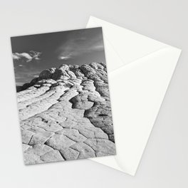 The Brain Rocks of White Pocket Stationery Cards