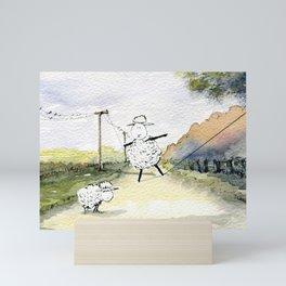 Slackline Mini Art Print