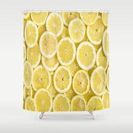 Lemon pattern #society6 #decor #buyart Shower Curtain