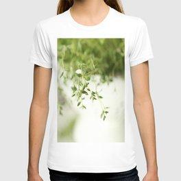 Fresh Herb In A White Pot #decor #society6 #buyart T-shirt