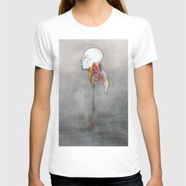 Doctor X, Skull anatomy drawing, NYC Artist T-shirt