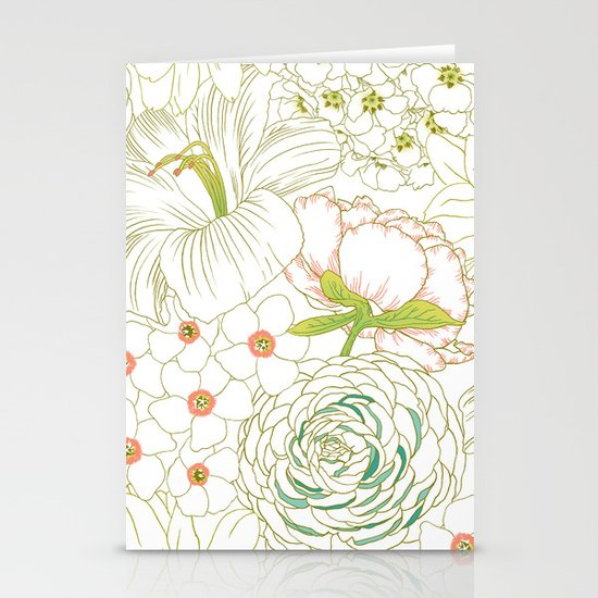 Big Blooms Stationery Cards