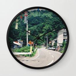 Japanese Countryside Wall Clock
