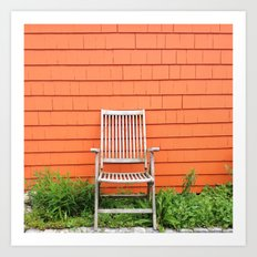 Waiting for a Seat Art Print