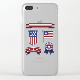 Happy Veterans Day Clear iPhone Case