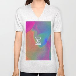 GLITCH this may take a few seconds Unisex V-Neck