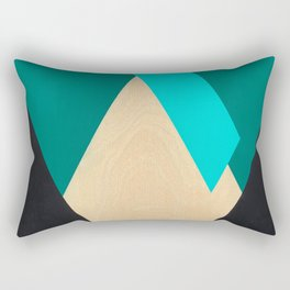 Pink Line Rectangular Pillow