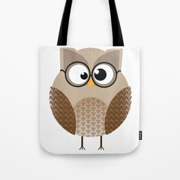 OWL KNOWS EVERYTHING Tote Bag