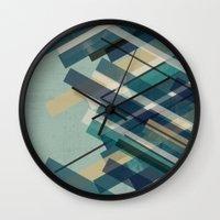 chaos Wall Clocks featuring chaos by Kakel