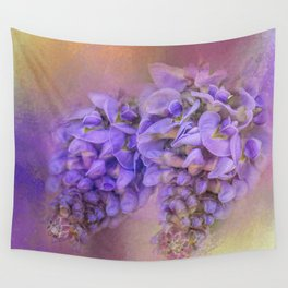 Enticing Wisteria Wall Tapestry