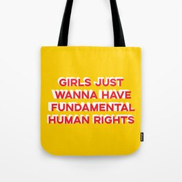 Girl Rights Tote Bag