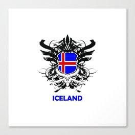 Iceland Uefa Euro 2016 Canvas Print