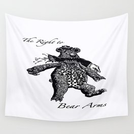 The Right to Bear Arms Wall Tapestry