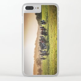 Cheshire Drag Hunt Boxing day 2016 Clear iPhone Case