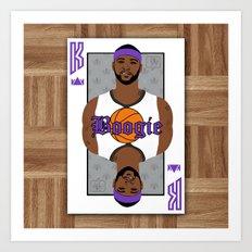 Boogie Cuz Art Print
