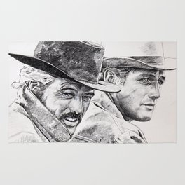 butch cassidy and the sundance kid Rug