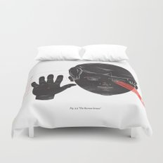The Human Senses Duvet Cover