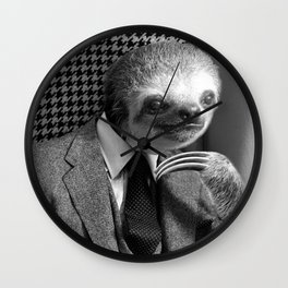 Gentleman Sloth #6 Wall Clock