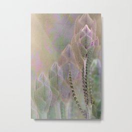Floral abstract(18). Metal Print
