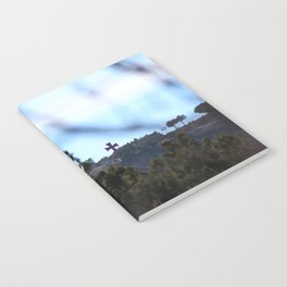 Cross on the hill Notebook