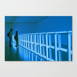 La Vie en Bleu Canvas Print