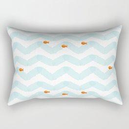 Golf Fish Rectangular Pillow