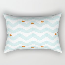 Golf Fish Rectangular Pillow
