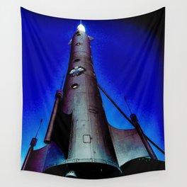 Fremont Rocket, Seattle Wall Tapestry
