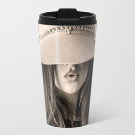 Beautiful Woman Travel Mug