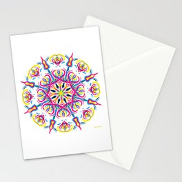 """""""CMYK in bloom"""" Stationery Cards"""