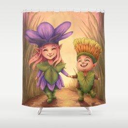 Children of Spring Shower Curtain