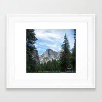 yosemite Framed Art Prints featuring Yosemite by Angela McCall